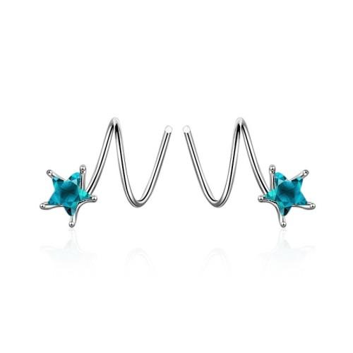 Star earring 577