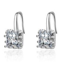 Square earrings XZE385b