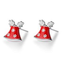 Christmas bell earrings 641