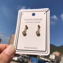 Diamond earrings XZE557a