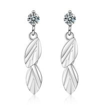 Leaf earrings 766