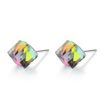 Square earrings XZE698