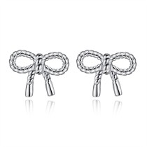bowknot earring wh 98