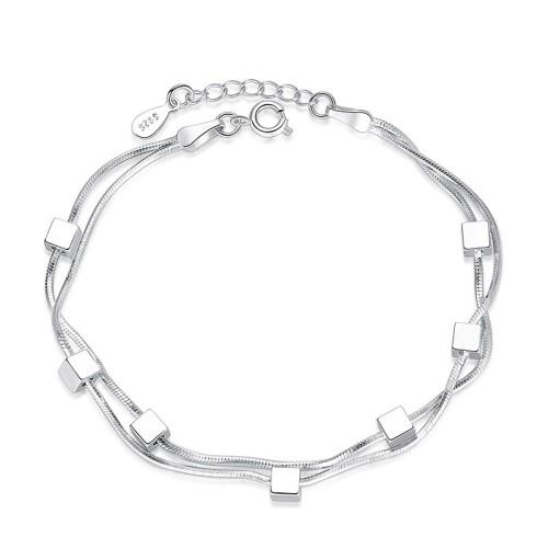 Square bracelet WHB22a