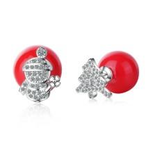 Christmas tree  earrings 625
