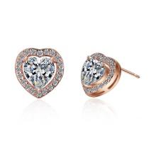heart earring XZE543
