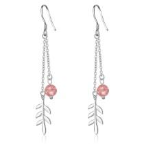 Long leaf earrings 424