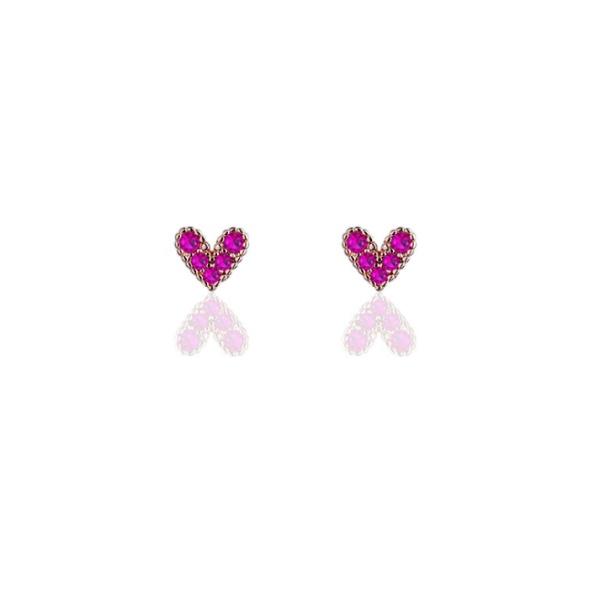 heart earring 546