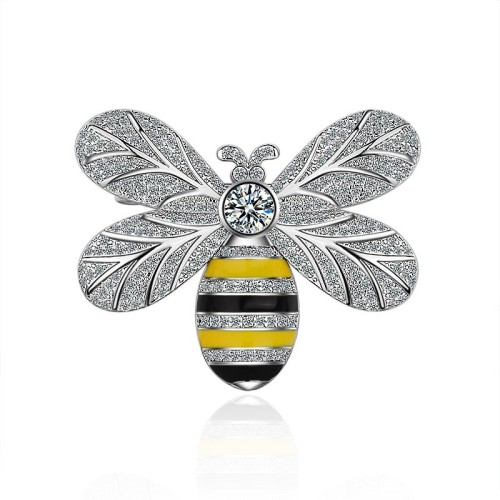 bee brooch XZB007w