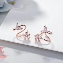flower earrings XZE394a