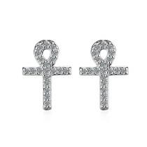 cross earring 411