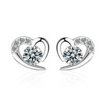 heart earring 596