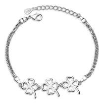 four leaf clover bracelet XZB023