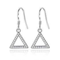triangle earring wh 34