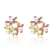 flower earring 744