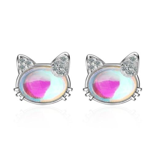cat earring 675