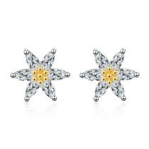 Small daisies earrings 794