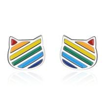 cat earring 587