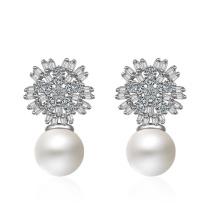 Pearl Flower Earrings XZE538