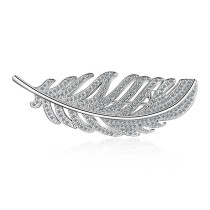 feather brooch XZB006w