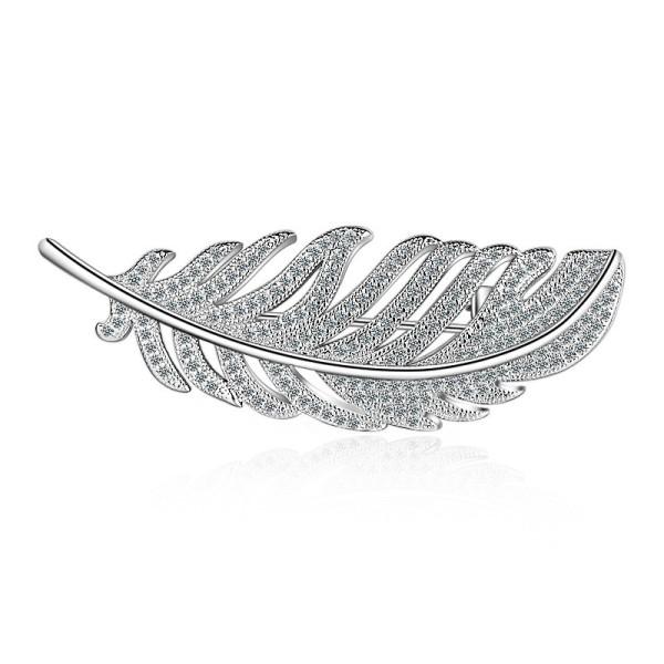feather brooch XZB006w