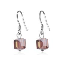 Square earrings XZE363c