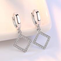 rhombus earring 21