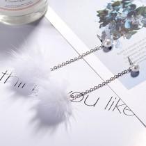 Plush Pearl Earrings XZE008w