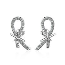 Wings earrings XZE438
