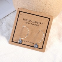 Diamond earrings XZE559