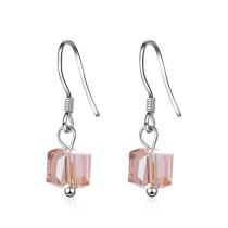 Square earrings XZE363f