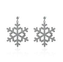 snowflakes earrings 525