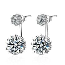 Post-hanging earrings