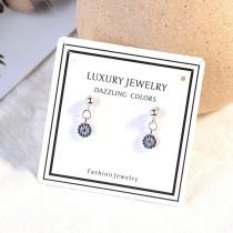 Diamond earrings XZE557
