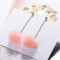 Plush earrings XZEq007e
