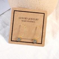 Diamond earrings XZE559a