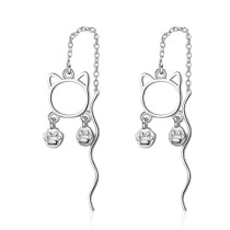long cat earring 380