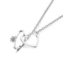heart necklace XZA326