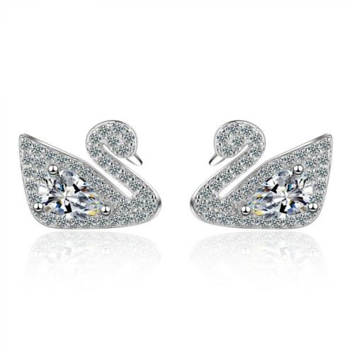 Swan earrings 790
