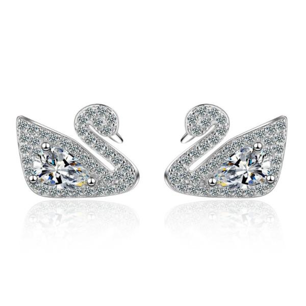 Swan earrings 790