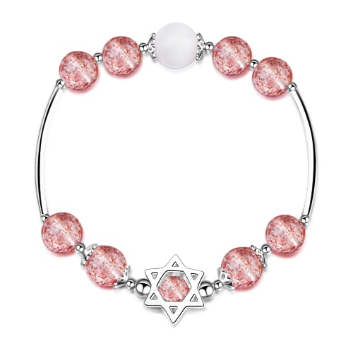 Strawberry Crystal Bracelet xzb077
