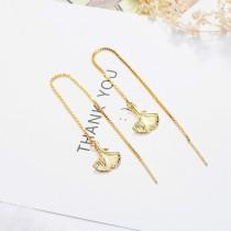 Maple Leaf Long Earrings XZE381b