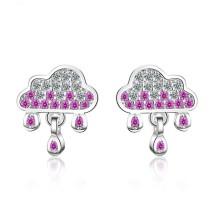 Cloud raindrop earrings 721