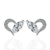 heart earring XZE503