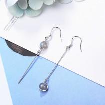 Asymmetric long earrings XZE344b