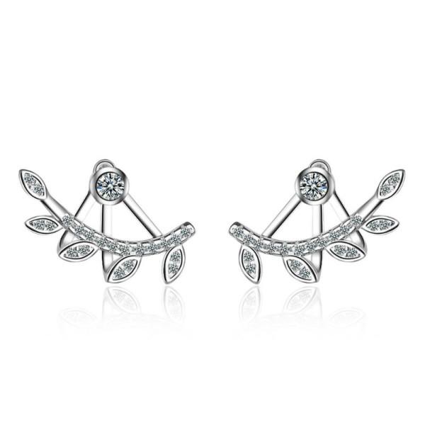 Leaf earrings 726