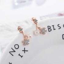 flower earring XZE720a