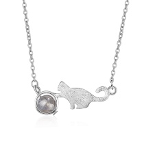 cat necklace XZA324a