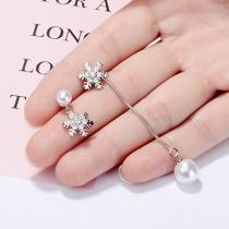 snow pearl earring XZE522a