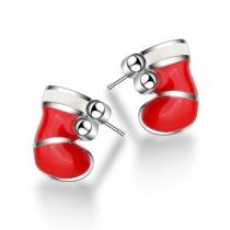 Christmas glove earrings 635